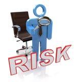 Ryzykowny charakter Pokazuje Niebezpiecznego zagrożenie Lub ryzyko ilustracji