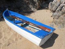 Rząd łódź fotografia stock