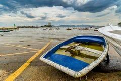 Rząd łódź w Canido obrazy royalty free