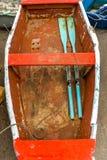 Rząd łódź w Canido fotografia royalty free