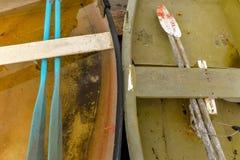 Rząd łódź w Canido obrazy stock