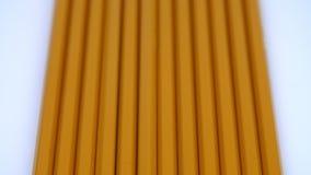Rząd żółci ołówki zbiory