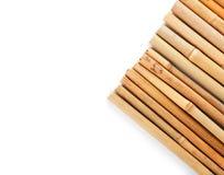 Rząd bambusowi kije zdjęcie royalty free