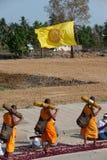 Rząd Buddyjscy podwyżka michaelita na ulicie. Obrazy Royalty Free