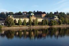 rząd domowy Prague Fotografia Royalty Free