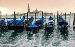 Gondole w Wenecja Obraz Royalty Free