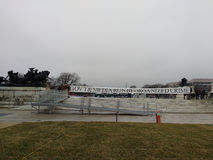 Rząd i środki Biegamy Uorganizowanym przestępstwem, protestujący Zanim kobiety ` s Marzec, Waszyngton, DC, usa obraz royalty free