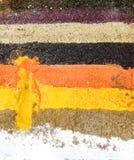 rząd kolorowe pikantność Zdjęcie Royalty Free
