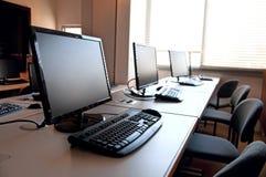 Rząd komputery zdjęcie stock