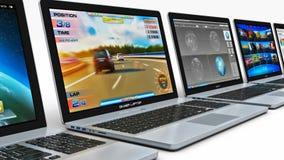 rząd laptopa ilustracji