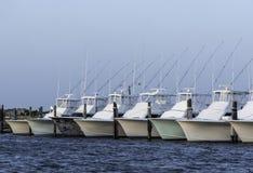 Rząd połowu statusu łodzie obraz royalty free