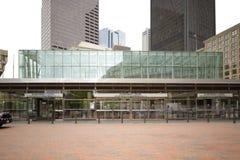 Rząd przelotowej staci Centrum śródmieście Boston Zdjęcia Stock