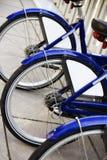 Rząd rower opony obrazy stock
