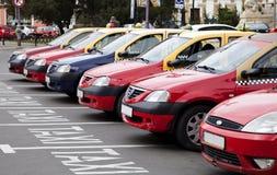 Rząd taxi zdjęcie royalty free