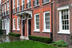 Rzędu budynek mieszkalny zdjęcie royalty free