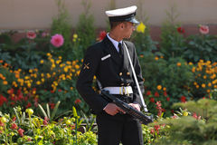 Rzędu Hinduskiego strażnik Zdjęcia Royalty Free