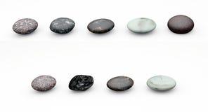 Rzędy kamienie ilustracji