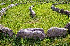 Rzędy skały Zdjęcie Stock