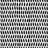 Rzędy szkicowi szczotkarscy uderzenia układali w rzędach Fotografia Stock