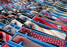 rzędów krawaty Obrazy Stock