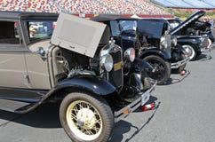 Rząd Antykwarscy samochody Fotografia Royalty Free
