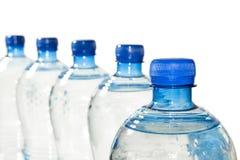 rząd butelkowa woda Fotografia Royalty Free