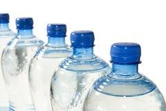 rząd butelkowa woda Zdjęcie Royalty Free
