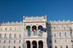 rząd domowy Trieste Fotografia Royalty Free