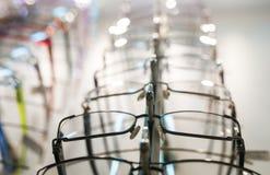 Rząd eyeglass Obraz Royalty Free