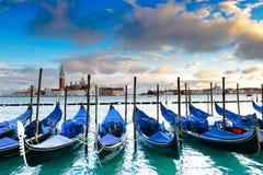 Gondole w Wenecja Fotografia Stock