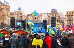 Rządowi protesty w Kijów, Ukraina Zdjęcia Royalty Free
