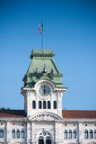 Rzędu Dom, Trieste Zdjęcie Stock