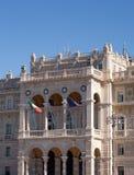 Rzędu dom w Trieste Zdjęcia Stock