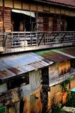 rzędu domowy styl Thailand drewniany Fotografia Stock