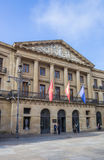 Rzędu lokalnego budynek Navarra region Zdjęcia Royalty Free