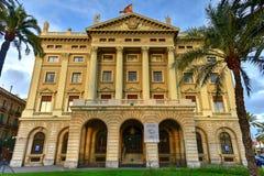 Rzędu Wojskowego budynek - Barcelona, Hiszpania Zdjęcie Royalty Free