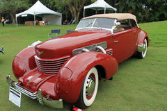 Rzadki klasyczny Amerykański samochód obraz royalty free