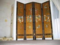 Rzadki Orientalny prywatność ekran, Los Angeles, Kalifornia usa zdjęcie stock