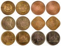 Rzadkie arabskie monety Fotografia Royalty Free