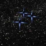 Rzadkie gwiazdy Fotografia Royalty Free