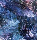 Rzadkopłynny akrylowy abstrakcjonistyczny wewnętrzny farby tło Obrazy Stock