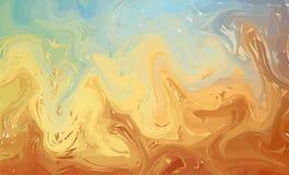Rzadkopłynny kolorowy kształta tło Pastelowi Modni gradienty Fluid kształtuje skład Abstrakcjonistyczny Nowożytny Ciekły zawijasa ilustracja wektor