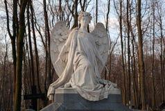 Rzeźba anioł Obraz Royalty Free