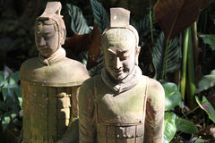 Rzeźba, architektura i symbole buddyzm, Tajlandia obrazy royalty free