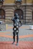 Rzeźba chłopiec Zdjęcie Royalty Free