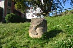 Rzeźba chato obrazy stock