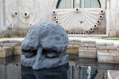 Rzeźba David Breuer doliną - zdjęcie royalty free