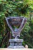 Rzeźba dekorująca w Południowa Afryka Zdjęcie Royalty Free