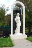 Rzeźba dziewczyna w Yaroslavl obraz stock