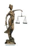 Rzeźba justitia obraz stock